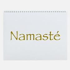 Simply Namaste Wall Calendar