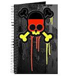 German Punk Skull Journal