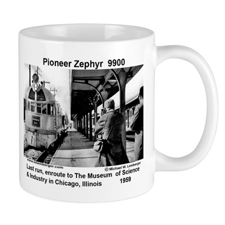 Pioneer Zephyr Mug