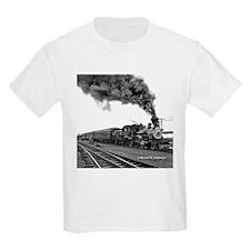 Steam Locomotive Kids T-Shirt
