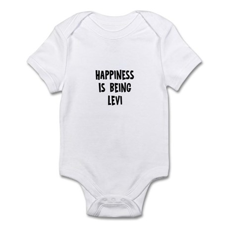 Happiness is being Levi Infant Bodysuit