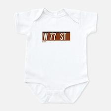 77th Street in NY Infant Bodysuit