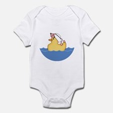 Ducky Girl (bg) Infant Bodysuit
