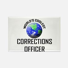 World's Coolest CORRECTIONS OFFICER Rectangle Magn