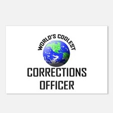 World's Coolest CORRECTIONS OFFICER Postcards (Pac
