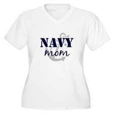 Navy Mom T-Shirt