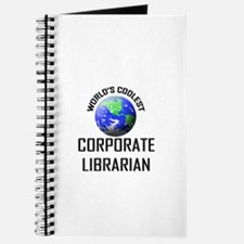 World's Coolest CORPORATE LIBRARIAN Journal