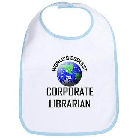 World's Coolest CORPORATE LIBRARIAN Bib