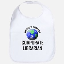 World's Coolest CORPORATE LIBRARIAN Bib