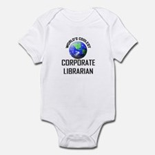 World's Coolest CORPORATE LIBRARIAN Infant Bodysui