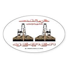 Alif Oilfield Yemen Oval Decal