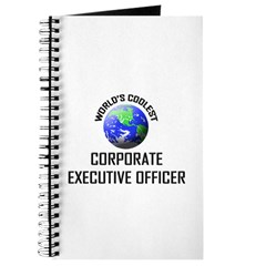 World's Coolest CORPORATE EXECUTIVE OFFICER Journa