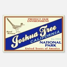 Joshua Tree (Road Runner) Rectangle Decal