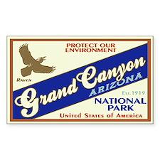 Grand Canyon (Raven) Rectangle Decal