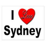 I Love Sydney Small Poster