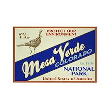 Mesa Verde (Wild Turkey) Rectangle Magnet