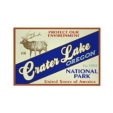 Crater Lake (Elk) Rectangle Magnet