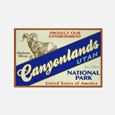 Canyonlands (Bighorn) Rectangle Magnet