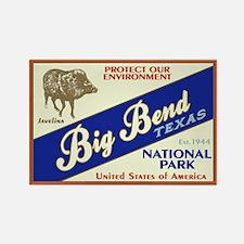Big Bend (Javelina) Rectangle Magnet