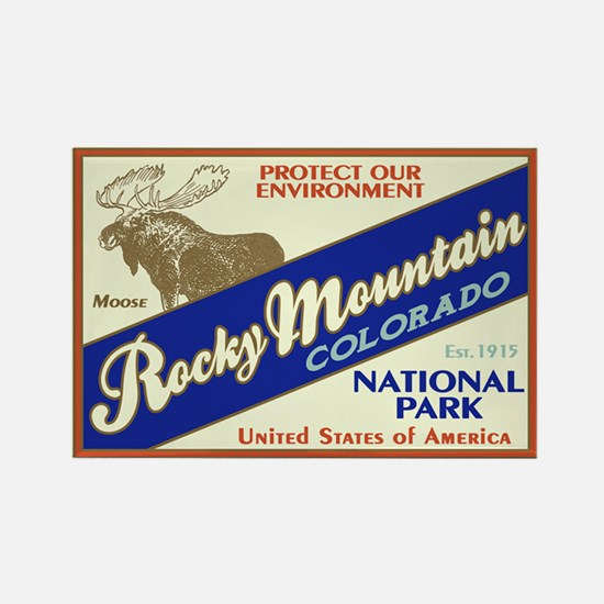Rocky Mountain NP Rectangle Magnet (100 pack)
