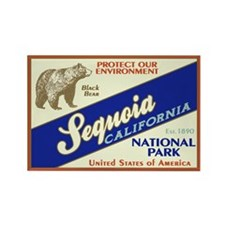 Sequoia NP Rectangle Magnet (100 pack)