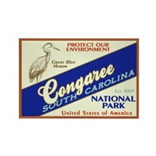 Congaree NP Rectangle Magnet (100 pack)