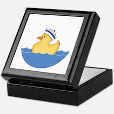 Ducky Boy (bg) Keepsake Box