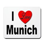 I Love Munich Mousepad