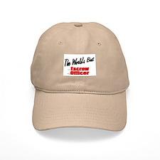 """""""The World's Best Escrow Officer"""" Baseball Cap"""