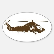 COPTER Oval Decal