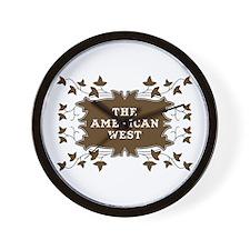 AMERICAN WEST Wall Clock