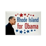 Rhode Island for Obama 2008 magnet