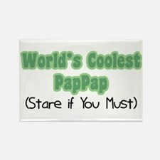 World's Coolest PapPap Rectangle Magnet