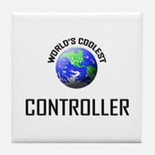 World's Coolest CONTROLLER Tile Coaster