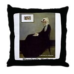 Meerkat's Mother Throw Pillow