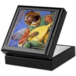 Angel with Lute Keepsake Box