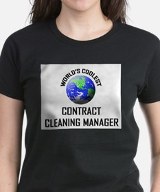 World's Coolest CONTRACT CLEANING MANAGER Tee