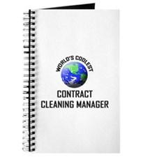 World's Coolest CONTRACT CLEANING MANAGER Journal