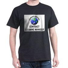 World's Coolest CONTRACT CLEANING MANAGER T-Shirt