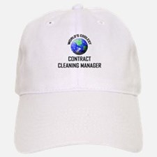 World's Coolest CONTRACT CLEANING MANAGER Baseball Baseball Cap