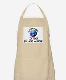 World's Coolest CONTRACT CLEANING MANAGER BBQ Apro