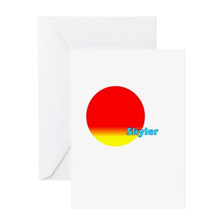 Skyler Greeting Card