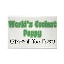 World's Coolest Pappy Rectangle Magnet