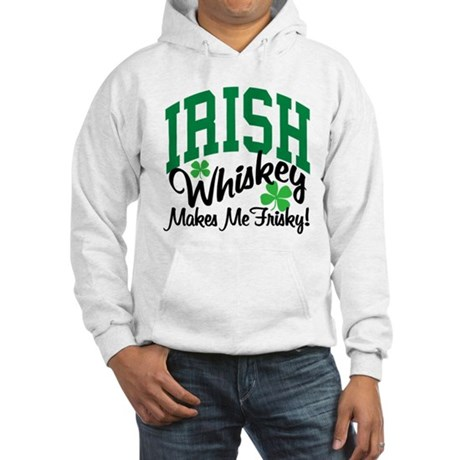 Irish Whiskey Hooded Sweatshirt