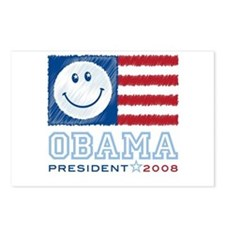 Obama Smiles Postcards (Package of 8)