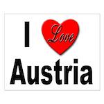 I Love Austria Small Poster