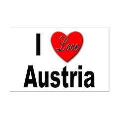 I Love Austria Posters