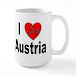 I Love Austria Large Mug
