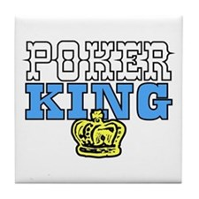 Poker King Tile Coaster