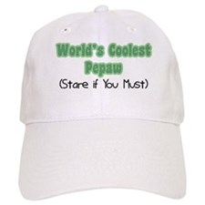 World's Coolest Pepaw Baseball Cap
